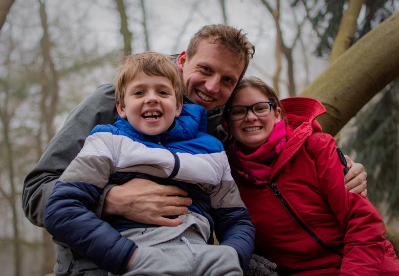 Op nieuwjaars dag  - Nieuwjaarsdag 2020 een mooi moment met mijn zoon en mijn geliefde Barbara . dit zijn van die momenten in je leven die je bij blij