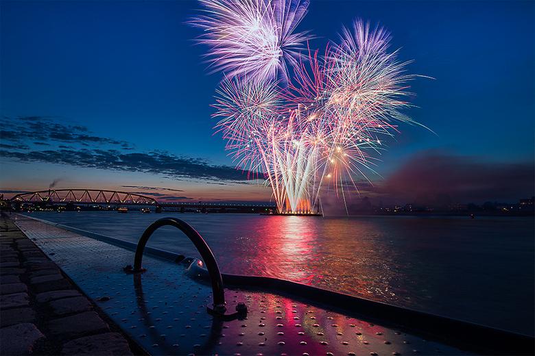 Fireworks Nijmeegse Vierdaagse
