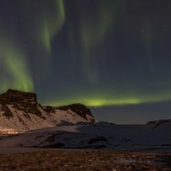 Dansend licht in IJsland