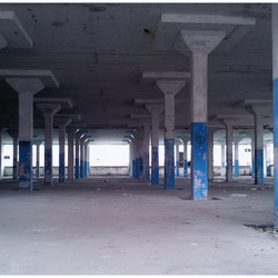 Old factory hall...