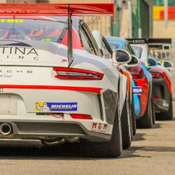 Porsche GT3 cup Spa Francorchamps