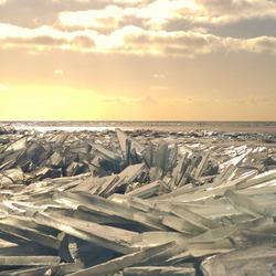 Stapel op ijs