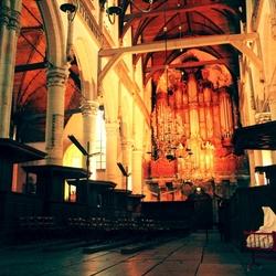 Een Wieg in de Oude Kerk