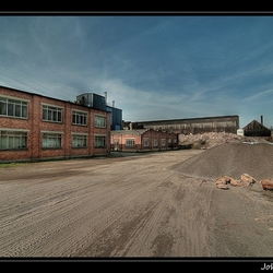 Fabriekshal.