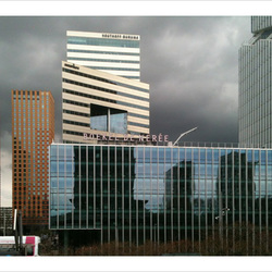 Zuidas 00, Donkere lucht boven WTC zuid