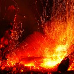 Crazy fire