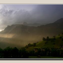 Avond op de berg
