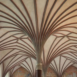 Plafond in het kasteel Malbork