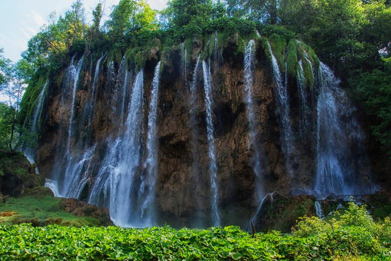 Plitvice lake waterfall -