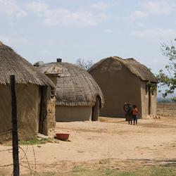 huisjes in Zuidafrika