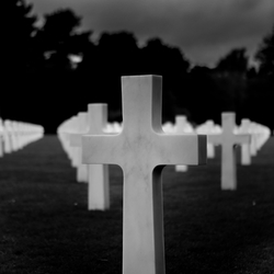 American cemetery Normandië