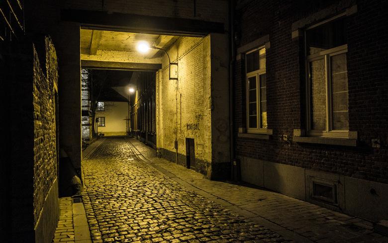 Straatje - Leuven - Straatje in Leuven (zo simpel kan het zijn ;p),