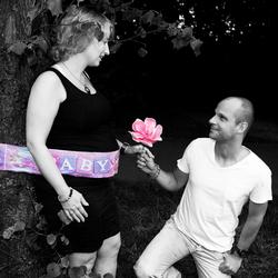 Zwangerschapshoot Linda & Krijn