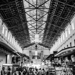 Market Hall in Greece