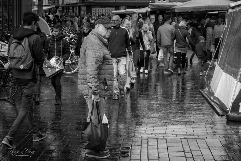 Een regenachtige dag -