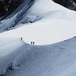 Mont Blanc the Summit 4800M