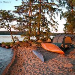 Ons kamp in Zweden