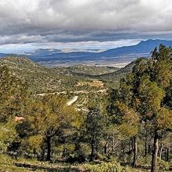 Panorama Spanje.