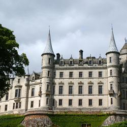 Dunrobin castle, Schotland