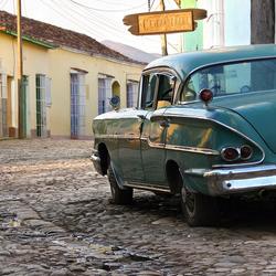Cuba-Trinidad straatbeeld