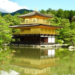 Kinkaku-ji Tempel -Japan.