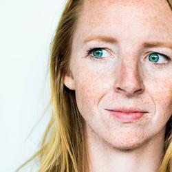 Freckles (zelfportret)