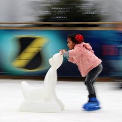 schaatsmeisje