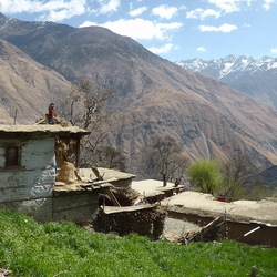 Doorkijkje in de Himalaya gebergte