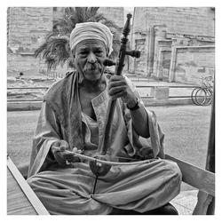 Egyptische muziekboog