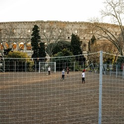 Soccer at historic grounds