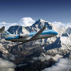KLM Fokker70 PH-KZB