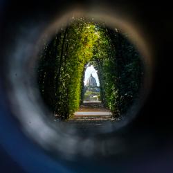 Secret Keyhole in Rome