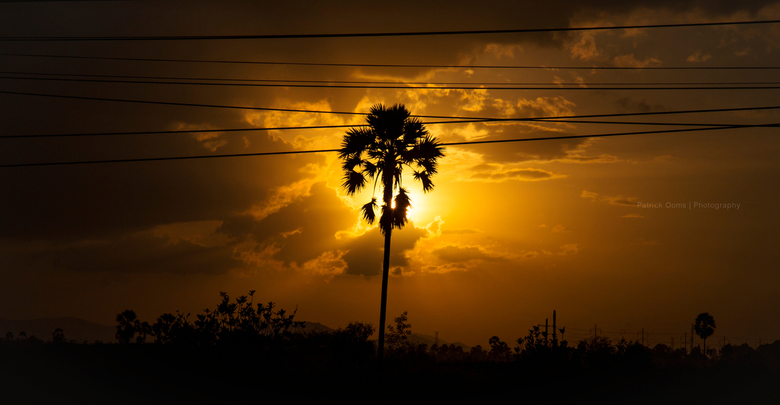 Cambodian Sunset -