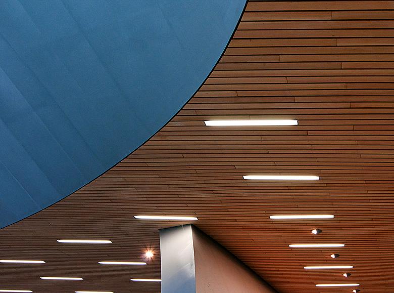 abstract - Detail uit het plafond