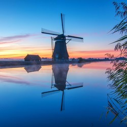 Sunrise in Groot Ammers