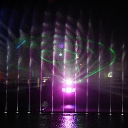 water en licht
