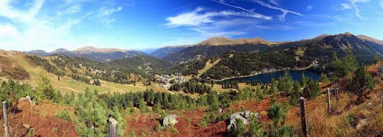 panorama Turracherhohe - Panorama vanaf de Turracherhohe.<br /> <br /> Wens iedereen een fijne en zonnige zondag.<br /> <br /> Groet Roland