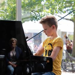 Jonge concertpianist