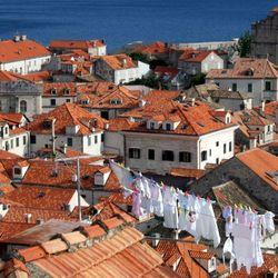 De was boven Dubrovnik