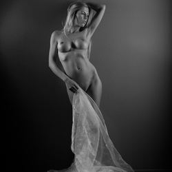 Art nude black en white