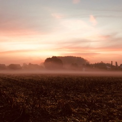 Landschap . Foto genomen met iPhone