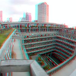 dak Groothandelsgebouw Rotterdam 3D GoPro