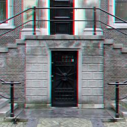 Trappen Stadhuis Schiedam 3D