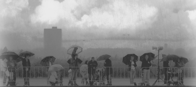 In de regenbui...... -