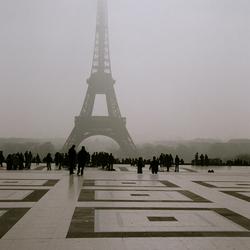 Eiffeltoren shilouet