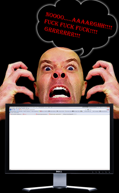 Control your anger... - 'K zou niet weten hoe, maar het was weer als vanouds een Blanco Page avondje op zoom....diepe zucht...