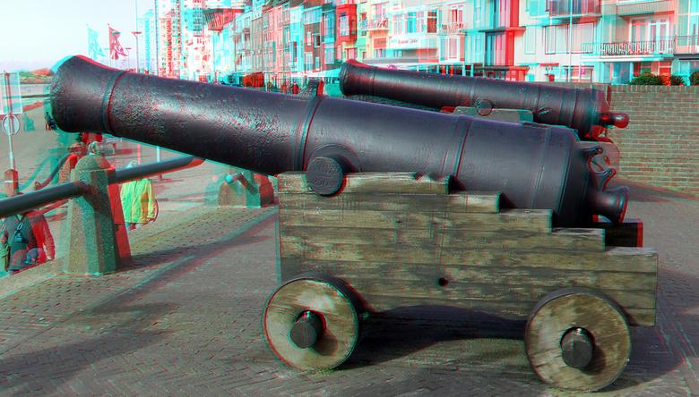 kade Vlissingen 3D - kade Vlissingen 3D<br /> anaglyph stereo red-cyan
