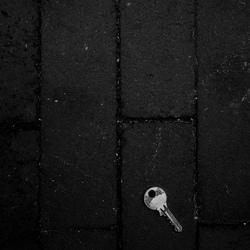 Portret van een sleutel