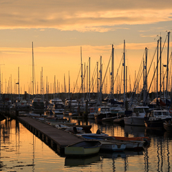 Sunset harbour