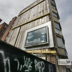 Reclame in hout